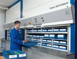 Hanel Rotomat - Vertical Storage